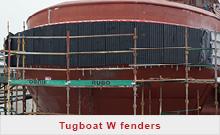 Tugboat W fenders